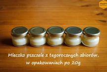 Apiterapia / Foty produktów pszczelich, którymi można wspomóc terapię różnych dolegliwości