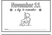 Kindergarten - Remembrance Day
