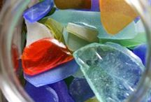 seashells and sea glass