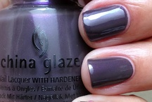 Nails / nail polish and manicure-pedi