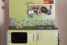Play Kitchen Ideas / by Suzanne Davis