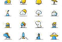 icon design App design flat design