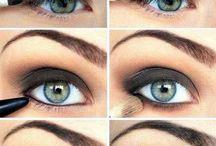 Anleitungen für Augenmakeup
