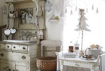 the powder room / one day I will have a beautiful bathroom...
