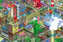 Pixel art / by John Bain
