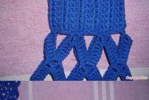 crochet pulover cu găuri