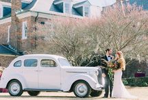 bohemian romance at boone hall plantation, scarlet wedding tour