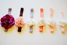 Hair accessories DIY / by Christine Williams