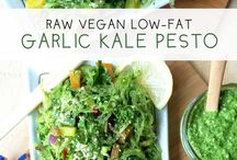 Raw vegan food
