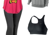 Cute workout clothes and accessories / by Thea Newsom