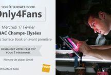 actus, Une, Windows 10, Windows 8, évènement, Fnac, Microsoft France, Only 4 Fans, Paris, Soirée, Surface Book, VIP