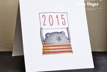 Scrap new year cards