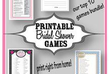bridal shower ideas / by Jill Nelson