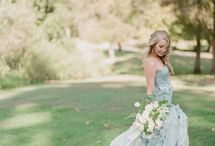 Dusty Blue / Charleston Boone Hall Styled Shoot