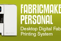 FabricMaker / Digital DIY Fabric Printing for Everyone!  Print your own Commercial Quality Fabrics!