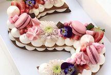 tarta de letras