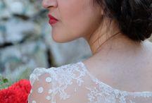 Mariage Ambiance guinguette rouge et blanc