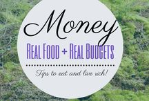 Money Saving Tips! / How to eat healthy and not go broke. Money saving tips for eating a real food or paleo diet.