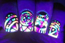 Glow In The Dark Nails! / Glowing Nail Art