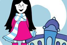 LUX ILUSTRACIONES / Lux es una muñeca de tela ilustrada por la diseñadora Lucrecia Aráoz. Los modelos: clásica, bailarina, hawaiana, espacial, sirena y jugadora de hockey son las variantes de esta coqueta muñeca. ver mas en Facebook: lux la muñeca lucreciaaraoz.com