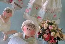 muñecas para el baño