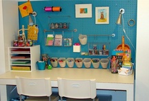 diy organised craft space