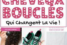 17 ASTUCES POUR CHEVEUX BOUCLÉS QUI CHANGENT LA VIE