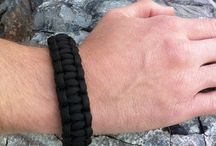 Paracord Survival Uses / Products made of US Military Spec Type III 550 Paracord. This lightweight rope was originally used as suspension lines of US parachutes during World War II. The 550 Paracord (or parachute cord) strand has a minimum breaking strength of 550 lbs.