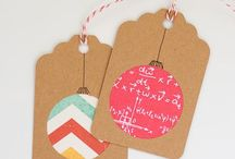 Groovy Gift Tags / by Becky Raubenolt