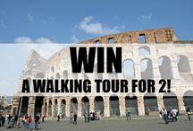 Win / Win a trip or nice rhings.