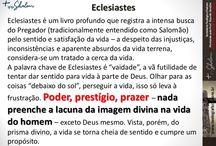Goza a Vida: Sabedoria Prática de Eclesiastes / As pessoas vivem uma vida fútil ou seja vazia sem um objetivo que produza beneficio  duradouros enriquecendo sua vida.