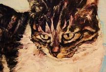 =^.^=  Art: Cats =^.^= / by Michele McKenzie Bobbitt