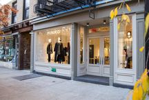 Hello Soho! New PINKO store in New York City / Our new store in the heart of Soho is just waiting for you! Discover the amazing atmosphere created around the Fall Winter 2016 collection: be dressed in PINKO and make the city fall in love with you! Waiting for you at 414-416 West Broadway NYC