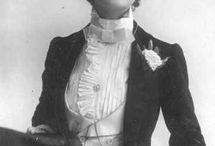 Edwardian,Victorian & other period female fashion / Edwardian & Victorian female fashion.
