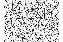 Matematik feltfarvning