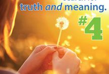4th Principle - Search for Truth & Meaning