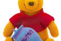 Crotchet Winnie The Pooh