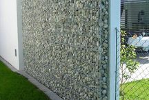stone grill wall