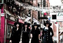 My style ♡ / Retro, Cute, Casual goth & Rock 'n roll style