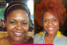 Kinky Hair / A showcase of women with kinky textured hair also known as type 4 hair.