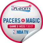 2012 NBA Playoffs / Get glue stickers