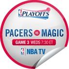 2012 NBA Playoffs / Get glue stickers