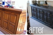 DIY Furniture  / Furniture tutorials with pictured instructions of before and after pictures, diy dresser, staining wood, how to upholster, and trash to treasure furniture ideas. / by Laurie Turk TipJunkie.com