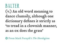 Weird and wonderful words / Tongue twisters...