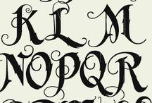 Алфавитные шрифты