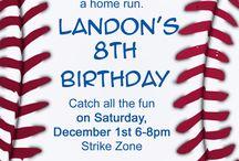 Party Ideas - Baseball