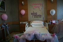 Organizasyon ve Süsleme / Hastane odası Anne-Bebek