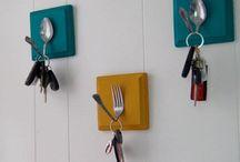 DIY - key holders