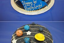 Solar system cake, cookies and cupcakes...