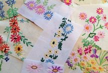 Upcycled embrodery